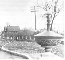 historic horse trough
